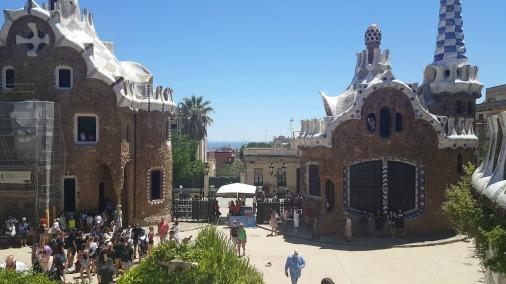 Parc Guell - Barcelona, Spain