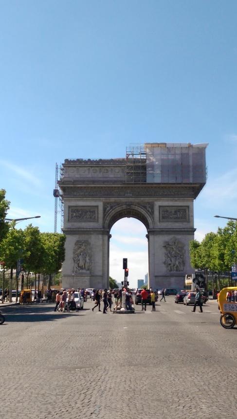 Arc de Triomphe - Paris, France